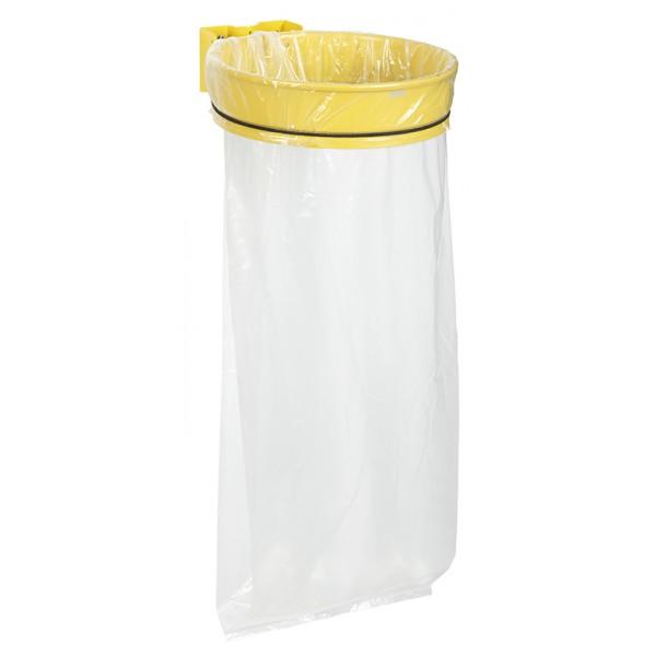 poubelle avec sac transprent pour poteau. Black Bedroom Furniture Sets. Home Design Ideas