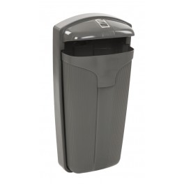 Poubelle Cibeles 50L - Cendrier / Distributeur sac