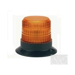 Feu à éclats Xénon multi-tension 12/100V orange