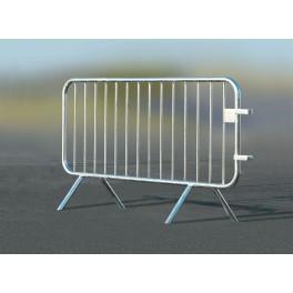 Barrière de sécurité galva 2000 mm Ecobar 14