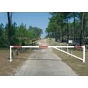 Barrière tournante universelle de 3 à 5 mètres