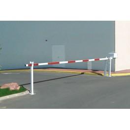 Barrière levante lisse aluminium universelle de 3.05 à 6.40 m