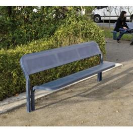 Banc ext rieur public m talique conviviale mobilier urbain banc m tal procity - Banc metallique exterieur ...