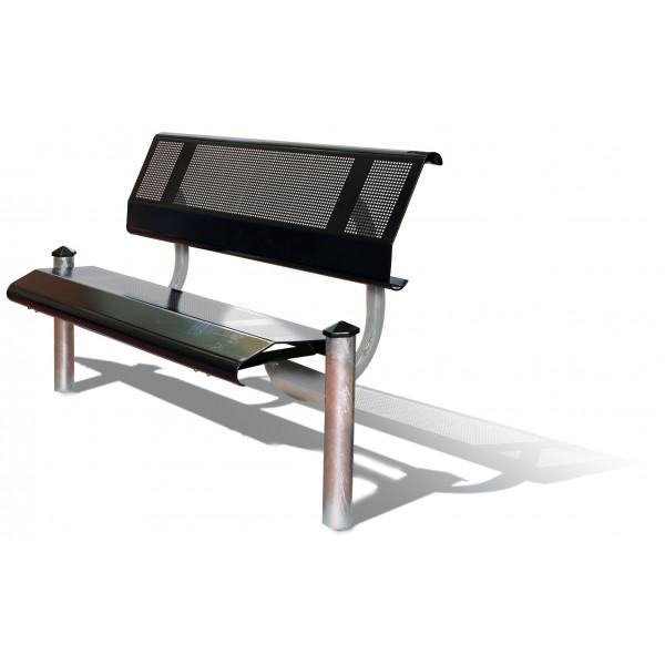 banc public ect rieur acier mercure procity 1500 mm mobilier urbain banc de ville. Black Bedroom Furniture Sets. Home Design Ideas