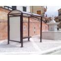 Station de bus Ouessant 5000 - 1 vitrine latérale