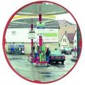 Miroir multi-usages diam.400 - 2 directions cadre vert