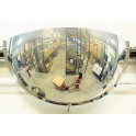 Miroir hémisphérique de sécurité 1/4 de sphère Volum 51-57