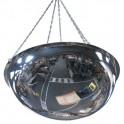 Miroir hémisphérique de sécurité 1/2 de sphère à suspendre Volum 3660
