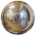 Miroir hémisphérique de sécurité 1/2 de sphère à fixation murale Volum 5657