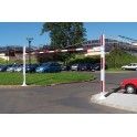 Portiques fixes de limitation hauteur - largeur de 5250 à 7550 mm