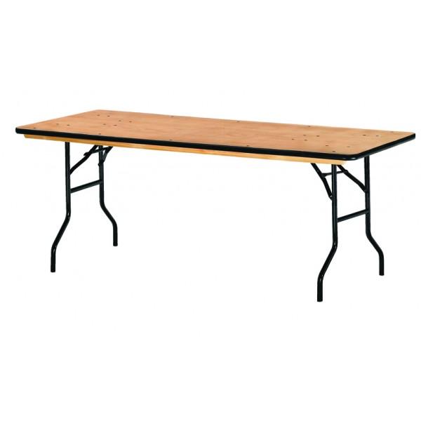 table pliante et empilable rectangulaire tarragone s3o. Black Bedroom Furniture Sets. Home Design Ideas