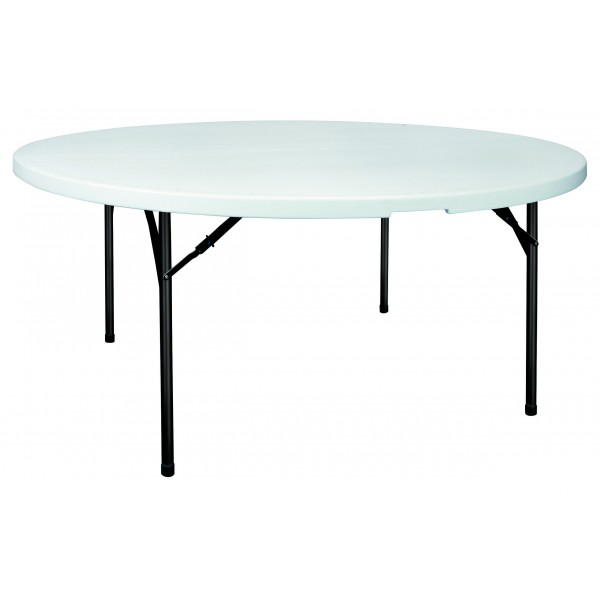 table pliante et empilable ronde grenade s3o. Black Bedroom Furniture Sets. Home Design Ideas