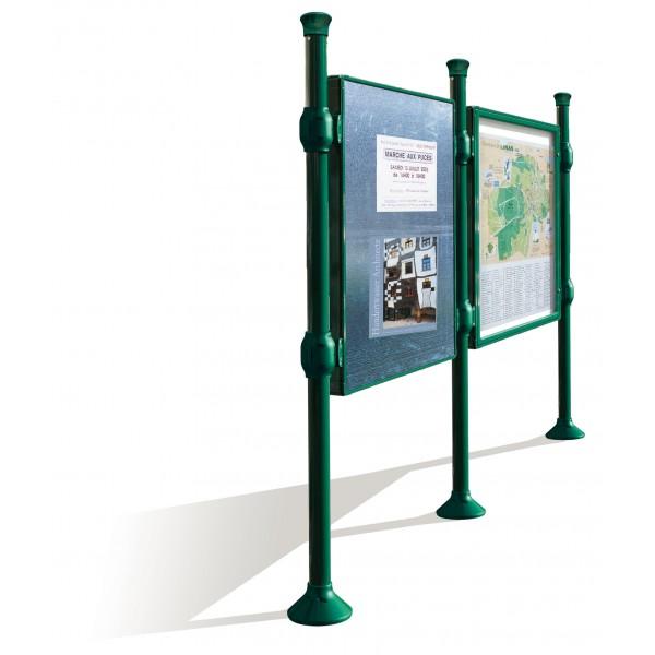 Panneau vitrine d 39 information ext rieur s3o for Panneau publicitaire exterieur prix