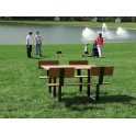Table de pique nique chaise intégrée RIGA