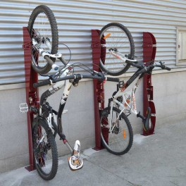 Support cycle mural vertical verrouillable s3o - Porte velo mural vertical ...