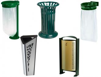 corbeilles de propret poubelle de ville et urbaine conteneur collecteur s3o. Black Bedroom Furniture Sets. Home Design Ideas