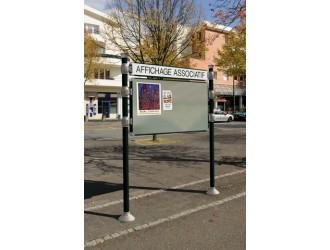 Panneaux d 39 affichage libre s3o for Affichage exterieur