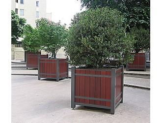 Fleurissement urbain jardini res bacs palmier fleurissement a rien espaces verts - Bac a arbre ...