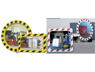 Miroirs de s curit et de surveillance pour l 39 industrie for Miroir industrie