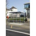 Station de bus Conviviale 3000 vitrage à gauche