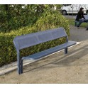 Banc métalique Conviviale - mobilier urbain