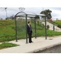 Station de bus Noirmoutier 2500 - 2 bardages latéraux