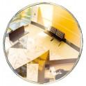 Miroir diam.300 - 2 directions décorativ 103