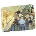 Miroir de surveillance 800x600 mm - 2 directions décorativ 118