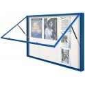 Vitrine 1000 extérieur anodisé h. 1000 x 2010 - 27 A4