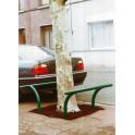 Barre décorative de protection galvanisé